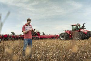 Case IH aposta em conectividade para ampliar a produtividade e maximizar o rendimento no campo (FOTO Divulgação)