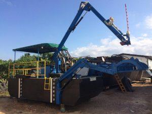 FPT Industrial impulsiona trator aquático para limpeza na Bahia