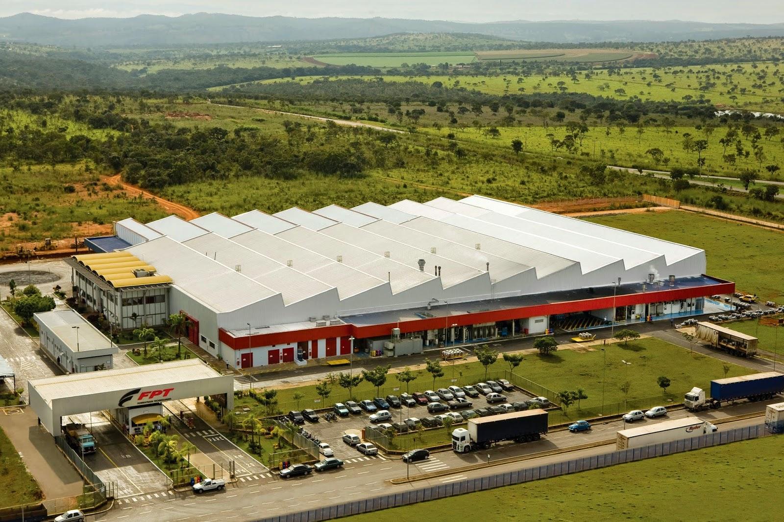 Fábrica FPT Industrial em Minas Gerais