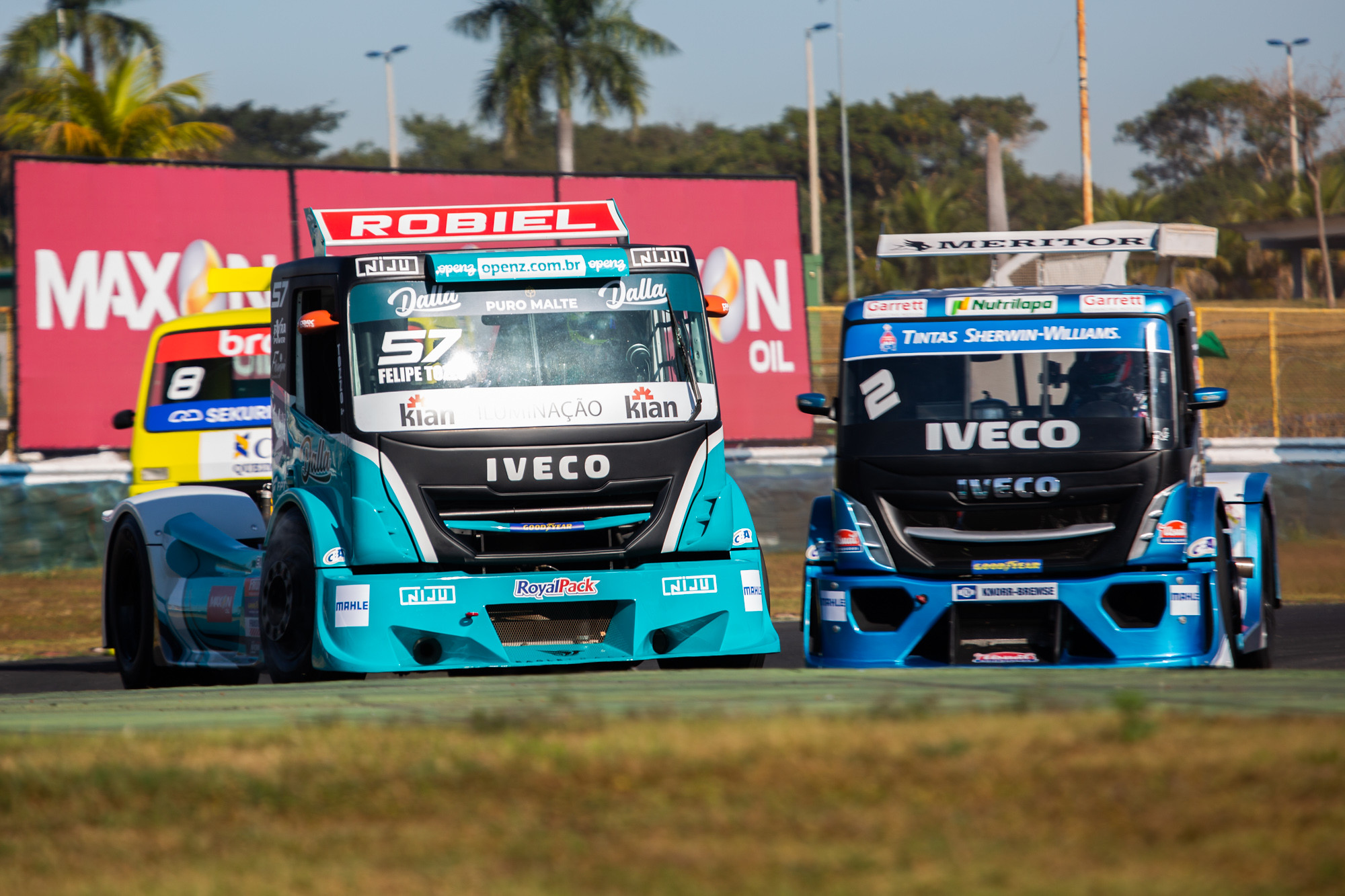 Felipe Tozzo conta com a potência da FPT Industrial na Copa Truck 2021