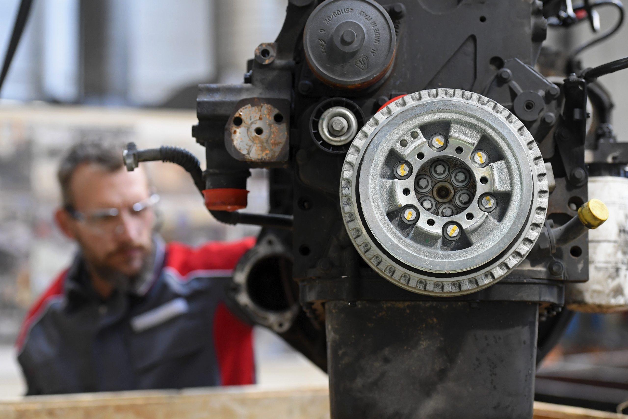 Motor remanufaturado da FPT Industrial
