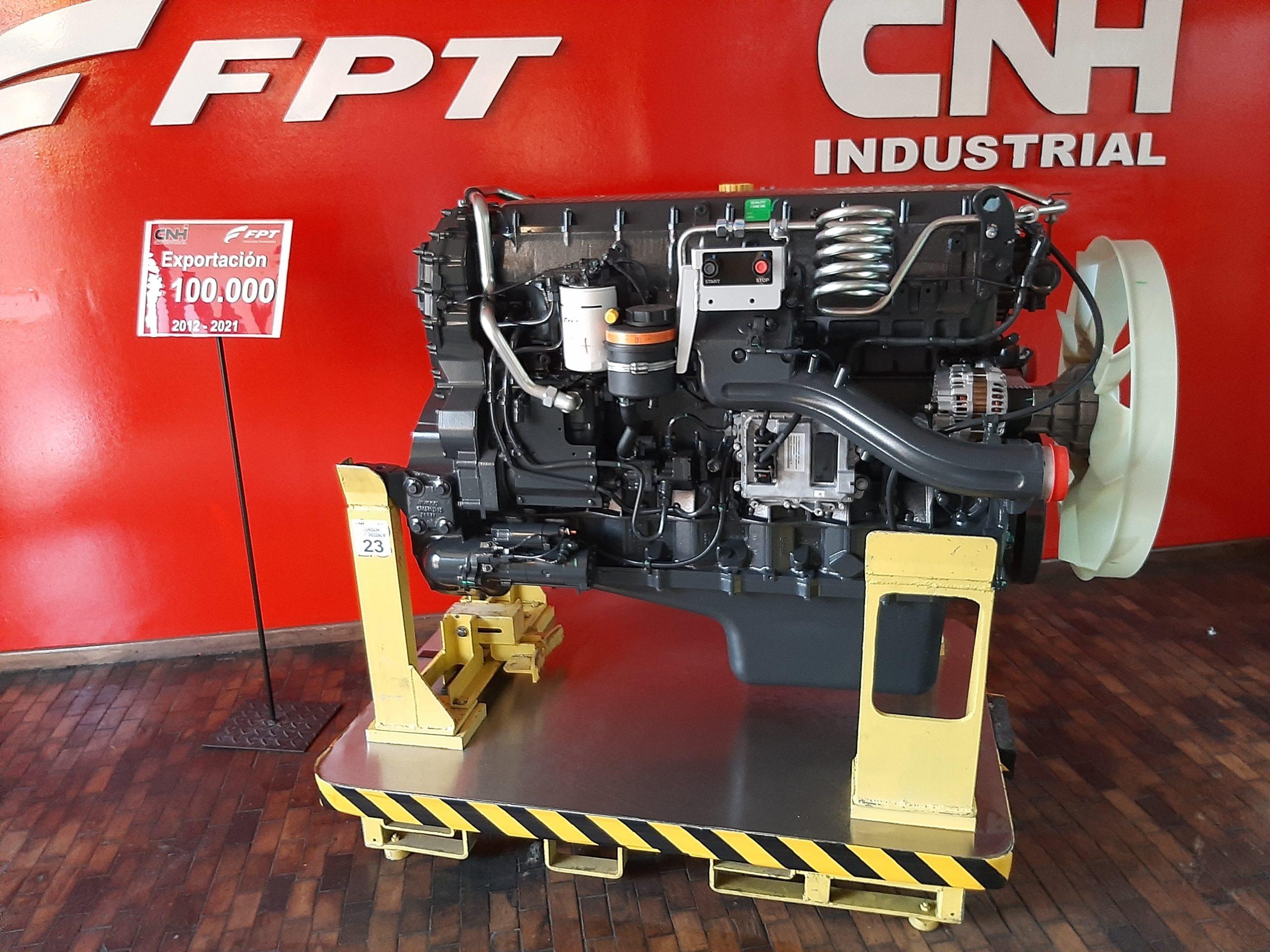 FPT exporta 100 mil motores da fábrica argentina